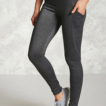 Active Mesh-Pocket Leggings