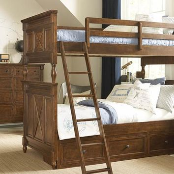 4920 Big Sur - Bixby Bunk Bed Twin Over Full Bunk With Underbed Storage Drawer