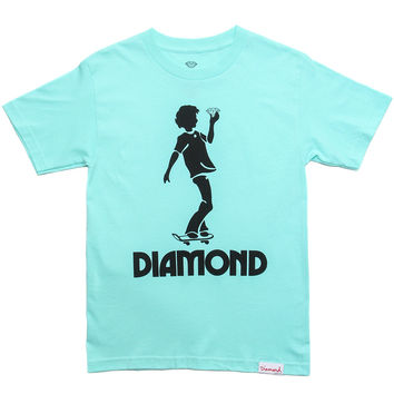 Diamond Supply Co. - Skate Kid T-Shirt (Diamond Blue)