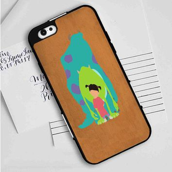 Monsters Inc (minimal) iPhone Case