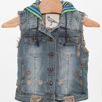 White Crow Denim Vest