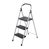 Gorilla Ladders 3-Step Lightweight Steel Step Stool Ladder with 225 lb. Load Capacity Type II Duty Rating GLS-3 at The Home Depot - Mobile
