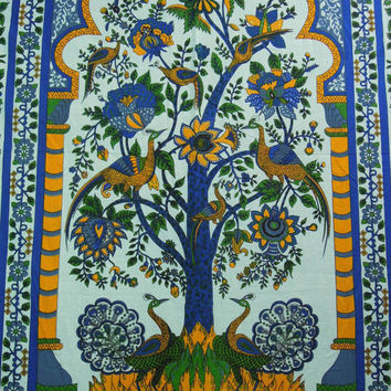Indian Tree of Life Tapestry, Beautiful Tree Of Life Bedspread, Indian Wall Hanging, Throw Ethnic Decor Art, hippie wall hanging, Wall Art