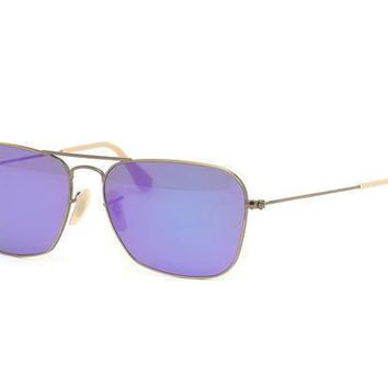 NEW Genuine Ray Ban RB3136 1671M Demi Brushed Bronze Mens Sunglasses Glasses