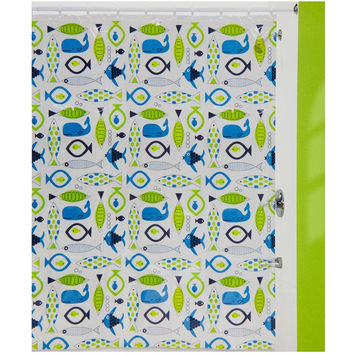 Fish Food Shower Curtain
