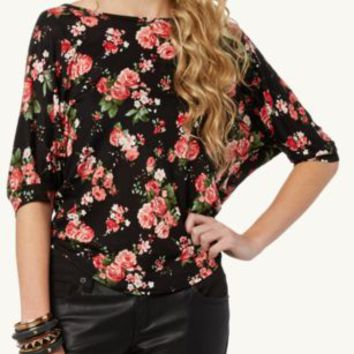 Bow Back Dolman Top