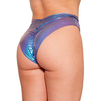 Mystic Neptune Scrunch Back Booty Shorts