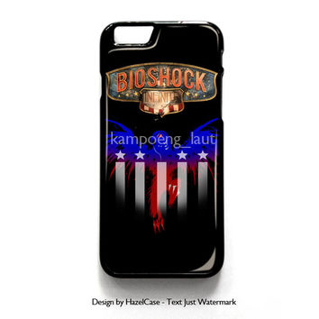 Songbird Over You Bioshoc for iPhone 4 4S 5 5S 5C 6 6 Plus , iPod Touch 4 5  , Samsung Galaxy S3 S4 S5 Note 3 Note 4 , and HTC One X M7 M8 Case Cover