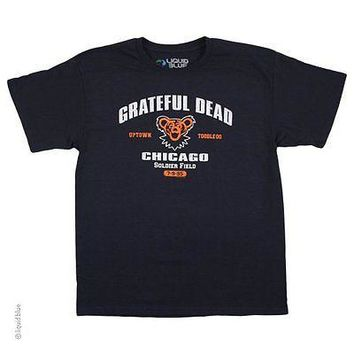 New GRATEFUL DEAD CHICAGO SOLDIER FIELD 1995 VINTAGE Licensed T BAND  T SHIRT
