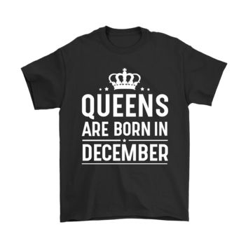 ESBCV3 Queens Are Born In December Shirts