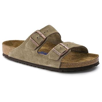 Birkenstock Arizona Soft Footbed Suede Leather Taupe 0951301/0951303 Sandals
