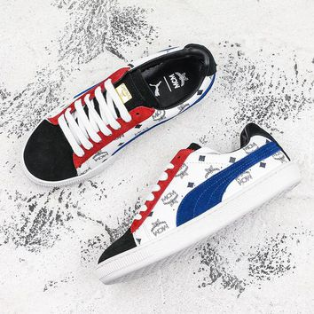 Puma x MCM Suede Classic Sneakers Multi - Best Deal Online