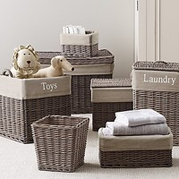 Normandy Storage Collection & Textured Cotton Liners