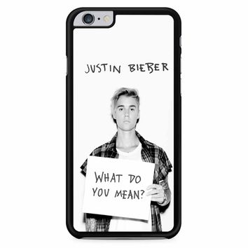 Justin Bieber What Do You Mean iPhone 6 Plus / 6S Plus Case