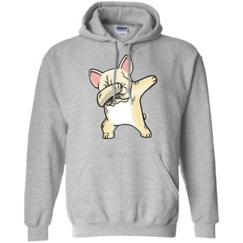 Frenchie Dabbing French Bulldog Kids Clothes Pullover Hoodie 8 oz.