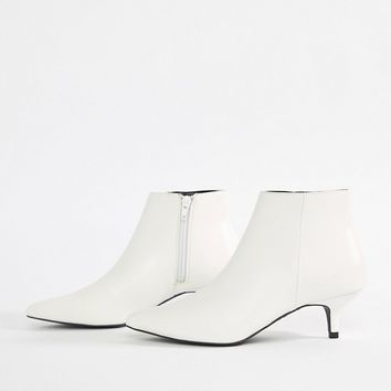 New Look Kitten Heel Boot at asos.com