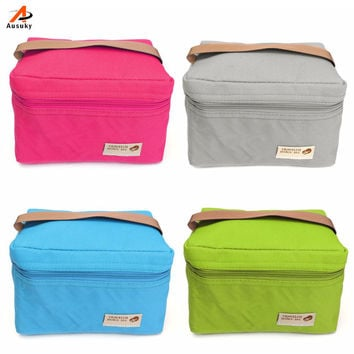 Popular Lunch Bags Cooler for Women Kids Used Thermal Bag Lunch Box Food Picinic Bag Lancheira Thermo 45