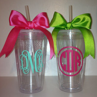 Personalized Monogrammed 16oz Tumbler