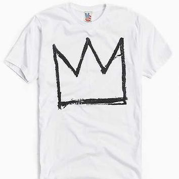 Junk Food Basquiat Crown Tee | Urban Outfitters