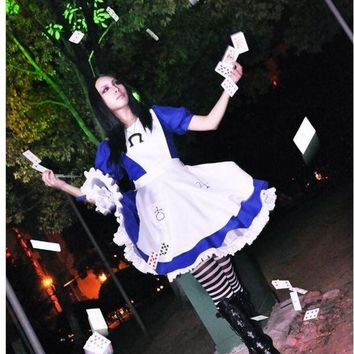 ONETOW Alice Madness Returns cosplay costume halloween costumes for women girls any size can Custom made