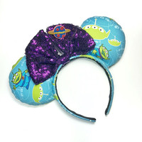 Toy Story Aliens Mickey Mouse Ears Minnie Mouse Ears- MADE TO ORDER