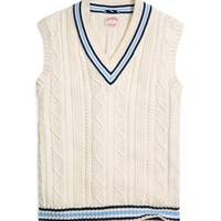 Cable Vest - Brooks Brothers
