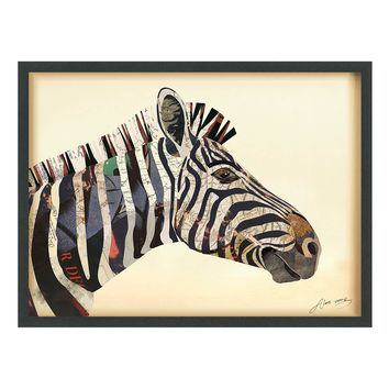 Zebra ~ Art Collage