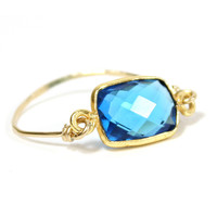 RN22 - Aquamarine Gemstone Ring – Rafia