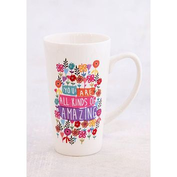 You Are Amazing Latte Mug