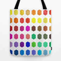 Colorful Tote Bag - Hexatone - Tote Bag