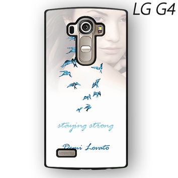 Demi Lovato Staying Strong for LG G3/LG G4 phonecase
