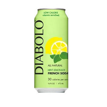 Diabolo Mint Lemonade Lite Carb (12x16oz)
