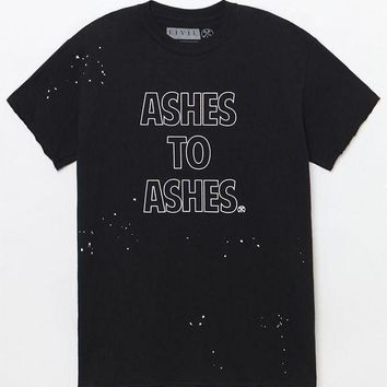 ONETOW Civil Ashes To Ashes Thrash T-Shirt at PacSun.com