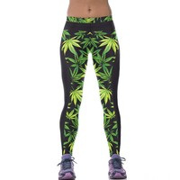 Workout Weed Leggings
