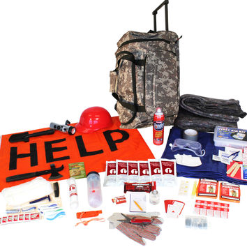 Wildfire Emergency Kit in Camo