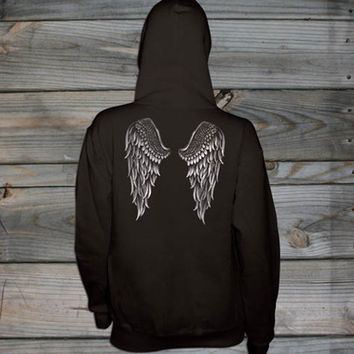 Women's Country Girl ® Angel Wings Relaxed Pullover Hoodie
