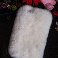 Cute Pink White Fur Furry Bling Sparkly Rhinestones Crystals Diamonds Gemstones Hard Cover Case For Various Samsung Galaxy Mobile Phones