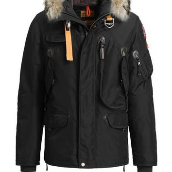 Parajumpers men's right hand down Jacket Hoodies Fur