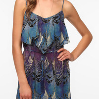 Urban Outfitters - Ecote Ruffled Tie-Front Dress