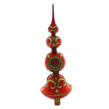 Christopher Radko Extravagant Reflection Tree Topper / Finial
