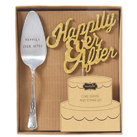 Mud Pie Wedding Collection Happily Ever After Cake Set   Dillards