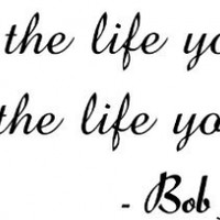 Love The Life You Live-Bob Marley Quote-Home Decor-Wall Sticker Decal-Wall Art-Wall Decor-Wall Sayings-Famous Quotes