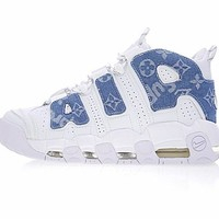 "Louis vuitton x Supreme x Nike Air More Uptempo ""Sup""921948-100"
