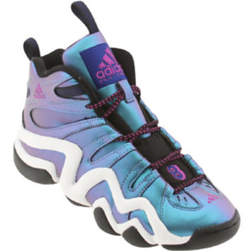 Adidas Big Kids Crazy 8 J (black / vivid pink / runninwhite) Shoes Q33434 | PickYourShoes.com
