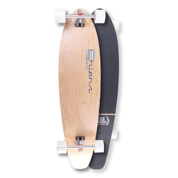 """Blank Kicktail Longboard Natural 40"""" from Ehlers - Complete"""