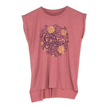 Chris Stapleton Rose Flutter Women's Tee Shirt