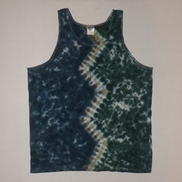 Tie Dye Zig Zag Shirt or Tank - Any Size, Style (Adults and Kids), & Color Combination Available
