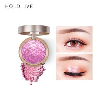 HOLD LIVE Sunset City Eye Shadow Palette New Baked Shine Gold Green Mermaid Color Pigment Glitter Shimmer Matte Eyeshadow Makeup