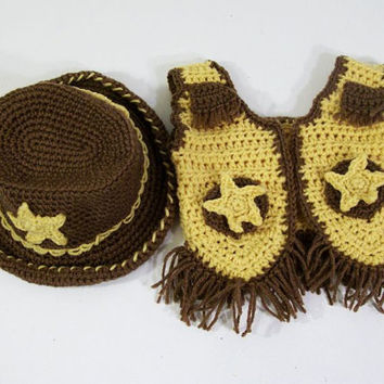 Free Crochet Baby Cowboy Outfit Pattern Labzada T Shirt