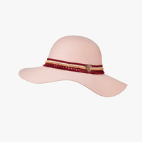 Scotch R'Belle Girls Floppy Felt Hat in Rose - 1551-02.72402